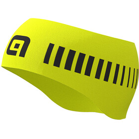 Alé Cycling Strada Hoofdband Heren, fluo yellow/black